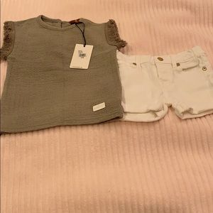 Baby girl 7 for all mankind set
